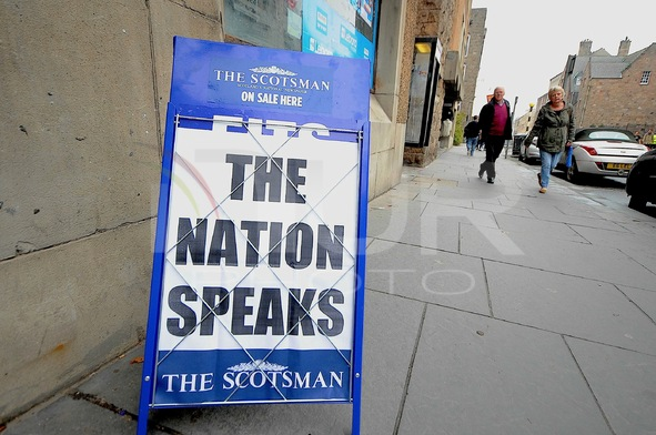 Scotland Votes No On Independence