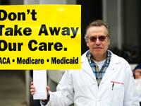 Anti ACA-Repeal Rally in Philadelphia