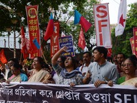 Student Protest in Kolkata