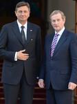Taoiseach Kenny welcome President of Slovenia in Dublin