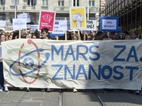 March for Science In Zagreb