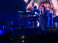Giorgia perform's live in Turin