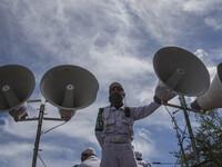 Rally for Ahok Blasphemy Trial in Jakarta