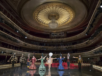 Opera 'La Gatita Blanca' In Madrid