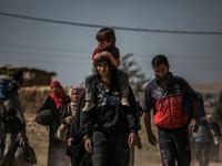 Civilians Flee New Front in Mosul Campaign