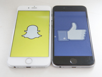 Snapchat and Facebook battle over augmented reality patents