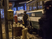 Suicide Bombings At Jakarta Bus Station