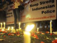 Tribute in Blasting Area Kampung Melayu in Jakarta