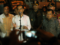 Indonesian President and Vice President At Terminal Kampung After Suicide Attack