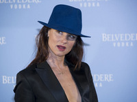 Juliette Lewis assist the Belvedere Vodka Party in Madrid