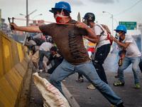 Protest Continue In Venezuela