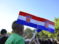 The 26th anniversary of the Croatian Armed Forces