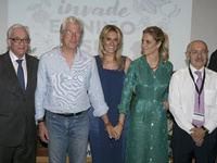 Richard Gere and Alejandra Silva In Madrid