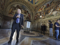 Vatican: The New Lighting System of Raphael's Rooms