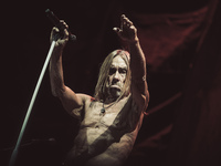 Iggy Pop Performs In Bari