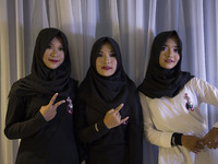 Hijab Metal Band performs in Jakarta