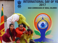 International Yoga Day in Colombo