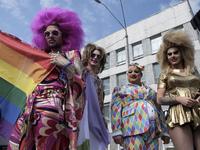 'Kyiv Pride 2017' gay parade in Kyiv