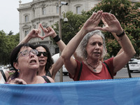 Protest Against Violence Against Women In Spain