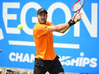 Steve Johnson v Stefan Kozlov - Aegon Championships - Day Two
