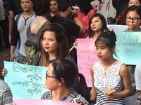 Jadavpur University Students Take Out Protest Rally In Support Of Gorkhaland