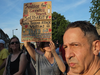 Unity with Finsbury Park Mosque vigil, London, UK