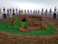 The International Yoga Day in India