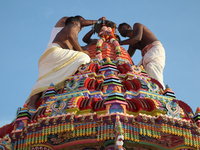 Tamil Hindus celebrate the Velloddam Festival