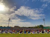International Yoga Day 2017 in Jaipur