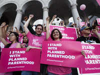 Planned Parenthood Rally in Los Angeles