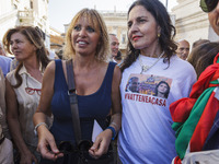 Hundreds protest against  Mayor of Rome Virginia Raggi