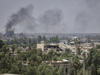 Iraqi forces Advance On ISIS In Mosul