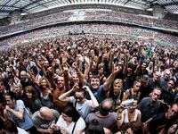 Depeche Mode perform live in Milan