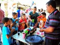 Eid al Fitr feast in Damascus