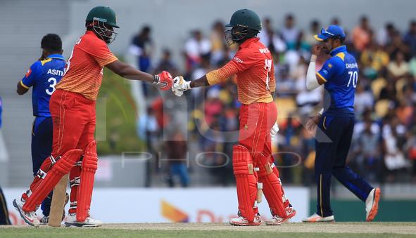 Sri Lanka vs Zimbabwe - 4th ODI at Hambantota