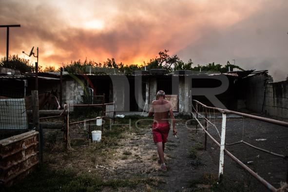Vast Fire At Vesuvius