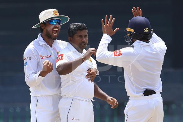 Sri Lanka v Zimbabwe Test Match 3rd Day
