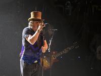 Zucchero Performs in Madrid