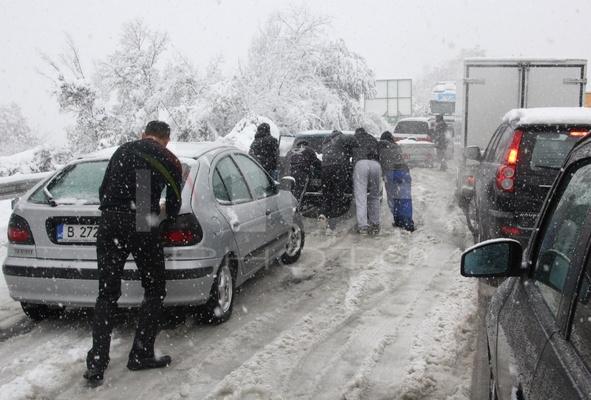 Bulgaria Snowfall Weather Floods