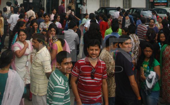 Epicentre in India 7.9