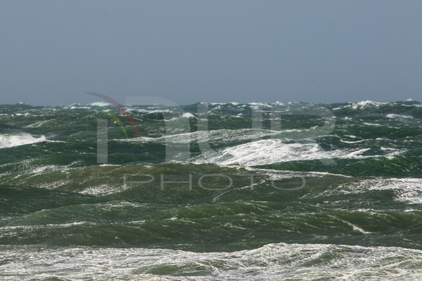 Storm Hits The Coast Of The South West Of France