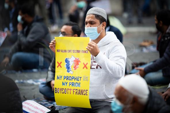 Islamic Demonstration In Rome