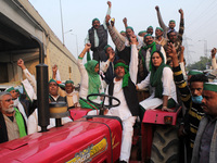 Farmers Protest Against Reforms At Delhi Border, India