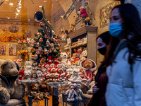 Christmas Decorations Amid Covid-19 Restrictions In Krakow