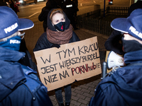 Women Protest In Warsaw, Poland