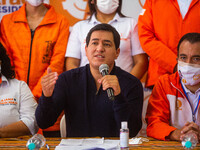 Andrés Arauz Presidential Candidate In The 2021 Ecuador Elections