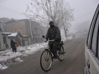 Cold Weather In Kashmir