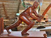 Woodcarving In Sri Lanka