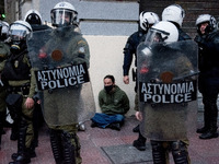 Demonstration In Support With Dimitris Koufontinas In Athens