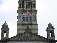 Glasgow Mourn The Death Of Prince Philip, Duke Of Edinburgh
